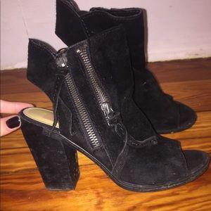 Dolce vita 6.5/7 black heels. Worn once!